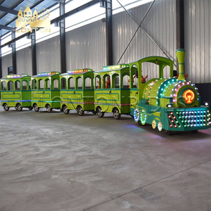 Forest Trackless train