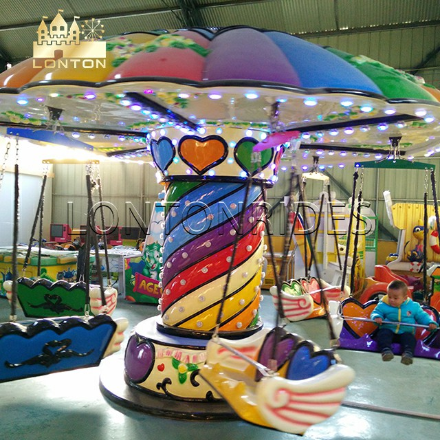 Colorful flying chair