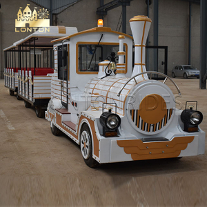 Adult Trackless train